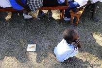 Copiii haitieni, in pericol