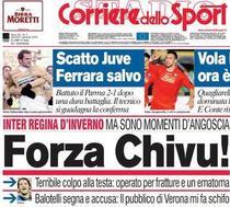 """""""Corriere dello Sport"""" il incurajeaza pe Chivu"""