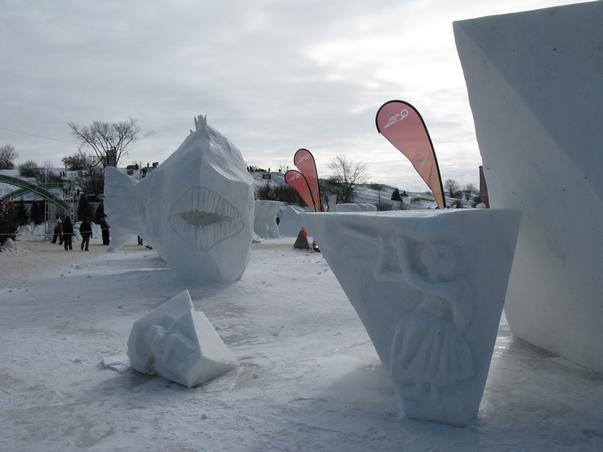 Festival international de sculptura în zapada (2)