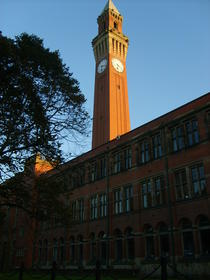Campus - Turnul cu ceas