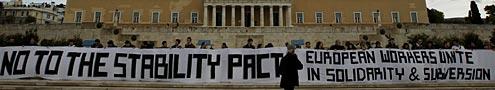 Protestatari greci, nemultumiti de tratamentul UE