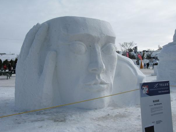 Festival international de sculptura în zapada (3)