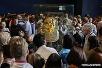 Masca mumiei lui Tutankhamon