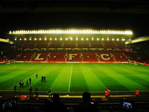Anfield, stadionul lui FC Liverpool