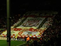 Atmosfera superba pe Anfield