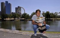 Federer, invingator la Australian Open pentru a patra oara