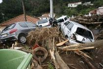Orasul Funchal in urma catastrofei