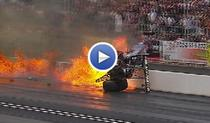 Accident mortal in NHRA Arizona