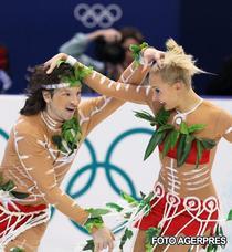 """Domnina si Shabalin, """"aborigeni"""" la dans original"""