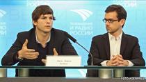 Ashton Kutcher si Jack Dorsey