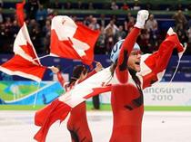 Pista scurta - aur pentru Canada