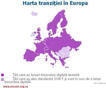 Stadiul tranzitiei in Europa