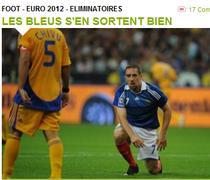 Francezii se bucura ca au picat cu Romania
