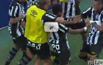 Robinho, super gol pentru Santos
