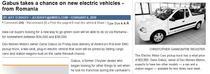Presa americana scrie despre masini electrice produse in Romania