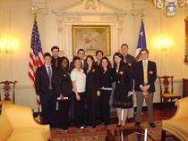Bianca la Departamentul de Stat