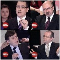 Ponta, Bela, Antonescu si Boc