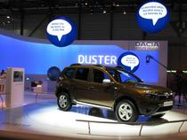 FOTOGALERIE Dacia Duster, expusa la Geneva