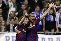 Dani Alves (dreapta) critica Realul