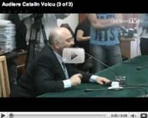 Catalin Voicu audiat in Comisia Juridica