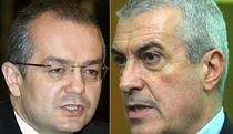 Emil Boc si Calin Popescu Tariceanu in fata judecatorilor