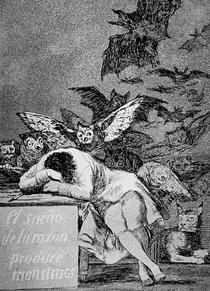 Caprichos 43 - Francisco de Goya