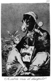 Caprichos-37 - Francisco de Goya
