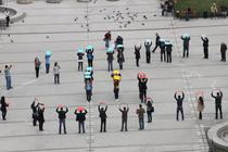 Flashmob la Iasi