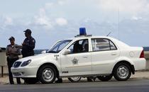 Masina Geely CK din dotarea politiei cubaneze