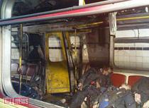 O imagine de la Lifenews.ru cu victime ale exploziei unei bombe intr-un vagon de metrou, la staţia Lubianka din Moscova
