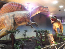 """Expozitia """"Zilele dinozaurilor"""" la Romexpo (FOTOGALERIE)"""