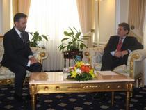 Marius Lazruca si Mihai Ghimpu marti, la Chisinau
