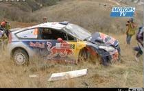 Raikkonen, accident in Raliul Mexicului