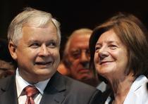 Presedintele Poloniei si sotia sa, ucisi in accident