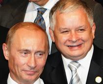 Vladimir Putin si Lech Kaczinsky