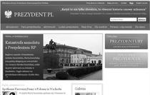 Site-ul Presedintiei poloneze, in berna