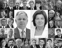 Victimele accidentului aviatic din Smolensk