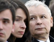 Fratele geaman si fata presedintelui Kaczynski
