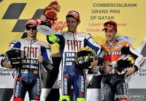 Podiumul din Qatar (MotoGP)
