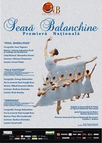 Seara Balanchine la ONB