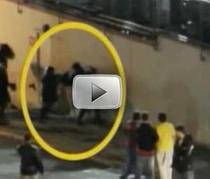 Suporter, agresat de politisti