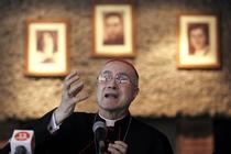 Cardinalul Tarcisio Bertone