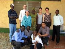 Echipa de peaceworkeri in Sudan