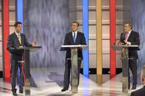 Prima dezbatere dintre cei trei candidati