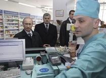 Vladimir Putin, la farmacie