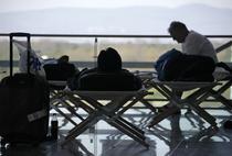 Pasageri blocati pe aeroportul din Frankfurt