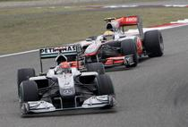 Schumacher, fara succes si la vanzari