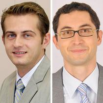 Daniel Petre si Lucian Tanase