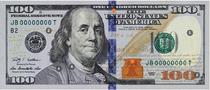 Noua bancnota de 100 de dolari