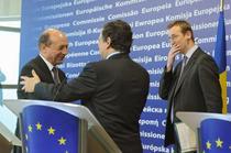 Basescu la Bruxelles cu presedintele Comisiei Europene